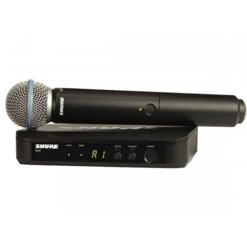 SHURE BLX24E/B58 M17 Вокальная радиосистема