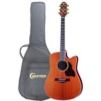 CRAFTER DE 7/N Электроакустическая гитара с чехлом