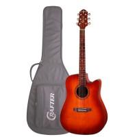 CRAFTER HILITE-DE SP/VTG Электроакустическая гитара с чехлом