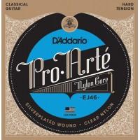 D'ADDARIO EJ-46 Hard Струны для классической гитары