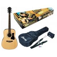 IBANEZ V105SJP NATURAL Набор начинающего гитариста