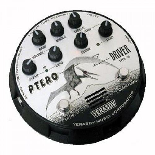 Обзор гитарного преампа YERASOV Pterodriver PD-5