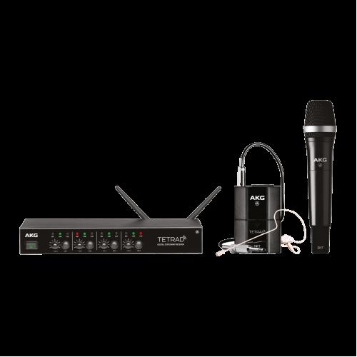 AKG DMS Tetrad Mixed Set цифровая радиосистема