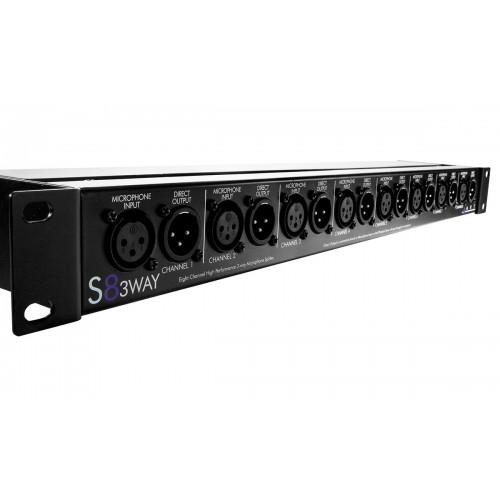 ART S8-3Way разделительмикрофонного сигнала