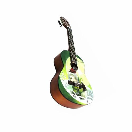 Barcelona CG10K/AMI 1/2 - Набор: классическая гитара детская