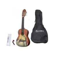 BARCELONA CG10K/Coline 1/2 Классическая гитара уменьшенная с аксессуарами