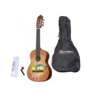BARCELONA CG10K/LUCIOLE 1/2 Классическая гитара уменьшенная с аксессуарами