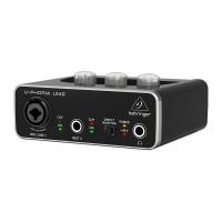Behringer UM2 USB аудиоинтерфейс