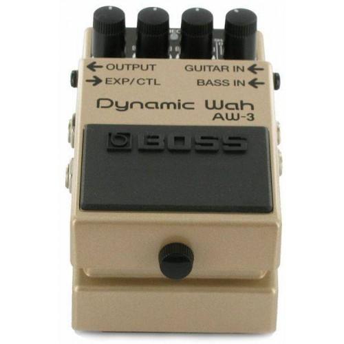 Boss AW3 педаль гитарная Dynamic wah.Регуляторы Decay, Manual, Sens и Mode. Индикатор