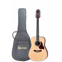 Crafter D-8-12N Акустическая гитара с чехлом