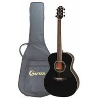 Crafter GA-8/BK Акустическая гитара с чехлом