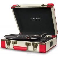 Crosley Executive Deluxe Red & White Виниловый проигрыватель