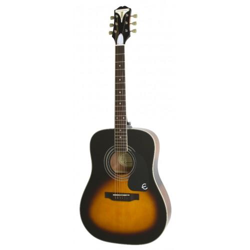 EPIPHONE PRO-1 PLUS Acoustic Vintage Sunburst акустическая гитара, цвет санберст