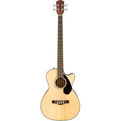 Fender CB-60SCE Nat LR электроакустическая бас-гитара