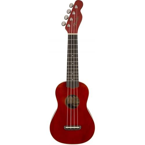 Fender Ukulele Vinice Cherry укулеле сопрано
