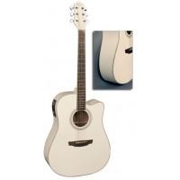 Flight AD-200 CEQ WH Электроакустическая гитара