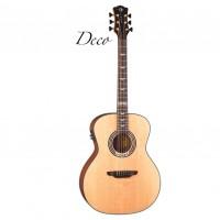LUNA ART DECO Электроакустическая гитара