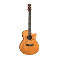 LUNA OCL TAT CDR Электроакустическая гитара