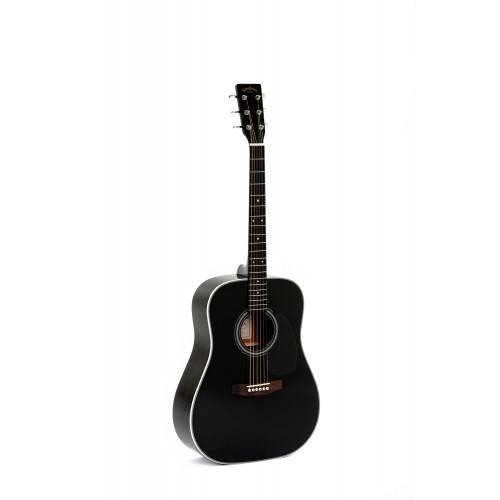 Sigma DM 1ST BK+ акустическая гитара