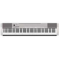 Casio CDP-130 SR Цифровое пианино, цвет серебристый