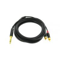 Cordial CFY 3 VCC кабель Y-адаптер джек стерео RCA