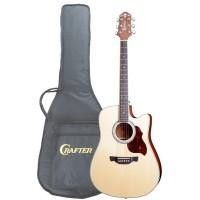 Crafter DE-8/N Электроакустическая гитара с чехлом