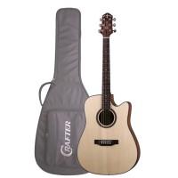 Crafter Hilite-DE SP/N Электроакустическая гитара с чехлом