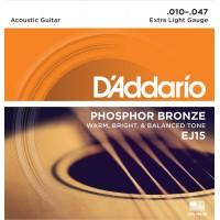 D'addario EJ-15 струны для акустической гитары