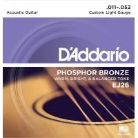 D'addario EJ-26 струны для акустической гитары
