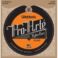 D'addario EJ-43 Струны для классической гитары
