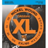 D'ADDARIO EXL160 Струны для 4-ти струнной бас гитары