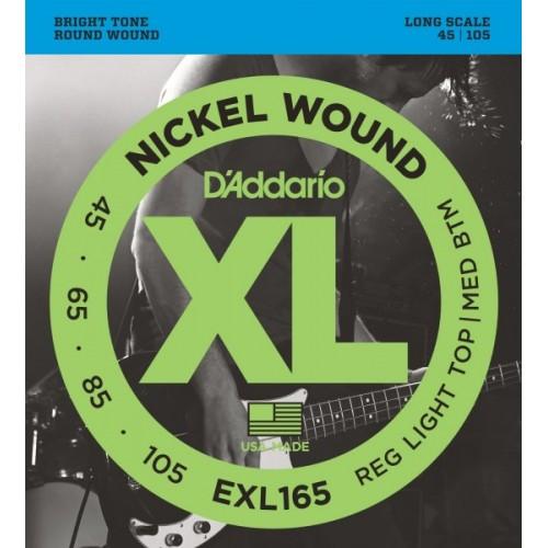D'ADDARIO EXL165 Струны для 4-ти струнной бас гитары