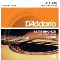 D'ADDARIO EZ-900 Extra Light Струны для акустической гитары