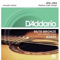 D'ADDARIO EZ-920 Medium Light Струны для акустической гитары