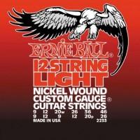 ERNIE BALL 2233 Light Струны для 12-ти струнной электрогитары.