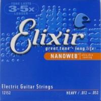 Elixir 12152 NanoWeb Heavy Струны для электрогитары