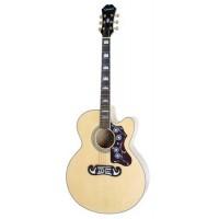 EPIPHONE EJ-200CE NAT GLD гитара электроакустическая