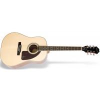 EPIPHONE AJ-220S Solid Top Acoustic Natural акустическая гитара, цвет натуральный