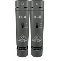 Behringer C-4 пара конденсаторных микрофонов