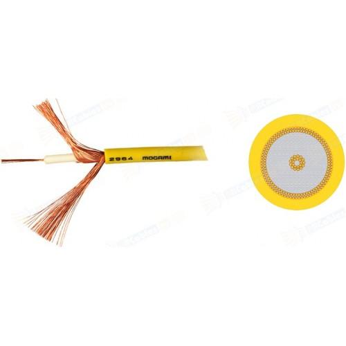 Mogami 2964-04 инструментальный/COAX кабель  75 Om,  4,8 мм  жёлтый