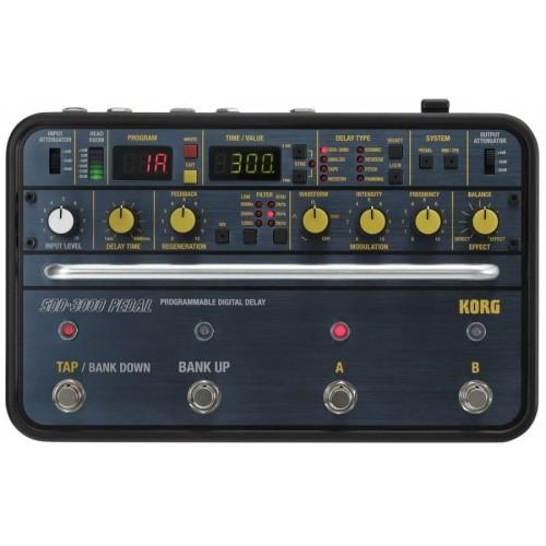 KORG SDD-3000-PDL Гитарный эффект дилей, переиздание классической модели 1982 года
