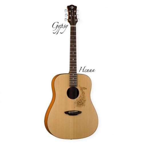 LUNA Gypsy HEN акустическая гитара