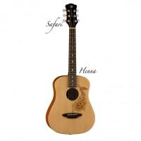 LUNA SAF HEN акустическая гитара 3/4
