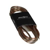 MadBoy FLATTY 10 м  Акустический кабель бесцветный