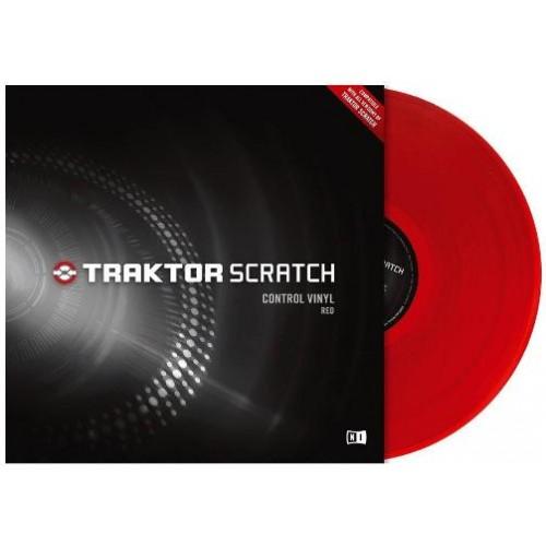 Native Instruments Traktor Scratch Pro Control Vinyl Red Mk2 Диск виниловый красный
