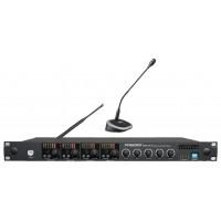 PASGAO WAM400/PDE40W Беспроводная конференционная система со встроенным автоматическим микшером