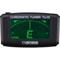 Boss TU-01 клипсовый тюнер