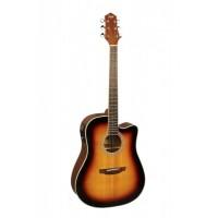 FLIGHT AD-200 CEQ 3TS Электроакустическая гитара