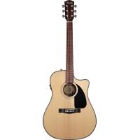 FENDER CD-60CE DREADNOUGHT NATURAL W/FISHMAN® MINIQ PREAMP электроакустическая гитара