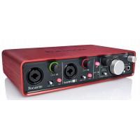 Focusrite Scarlett 2i4 2nd Gen USB внешний аудиоинтерфейс